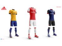 Arsenal concept Kits
