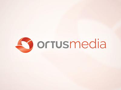 Ortus Media Logo logo design logotype design identity symbol sign icon brand branding mark emblem logo