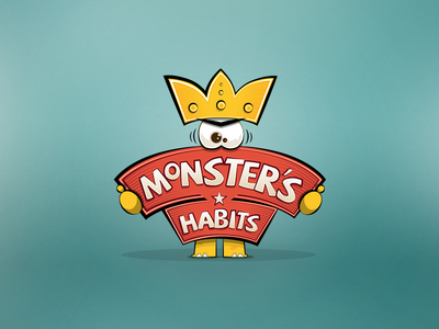 Monster Habits Logo