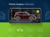 Vehicle imaging mobile app