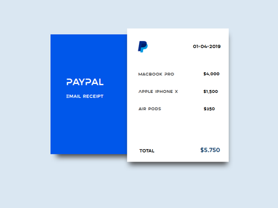 Paypal payment - email