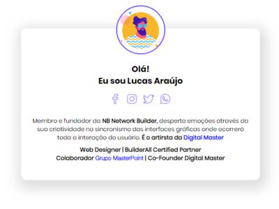 My personal Web Designer profile