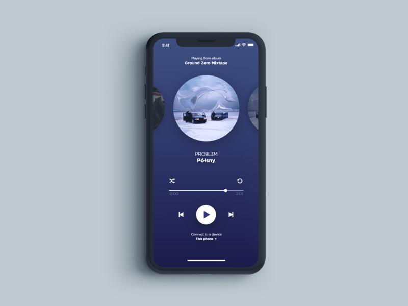 UI project for audio player icon ux 2d art 2d project vector design art ui