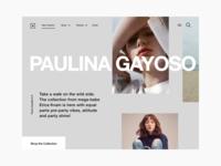 Women's Fashion E-commerce Website
