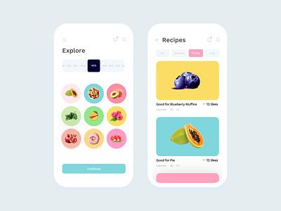 Nutro UI Kit figma sketch uikits uikit icon vector ios flat design app minimal clean ux ui