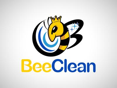 Bee Clean Logo