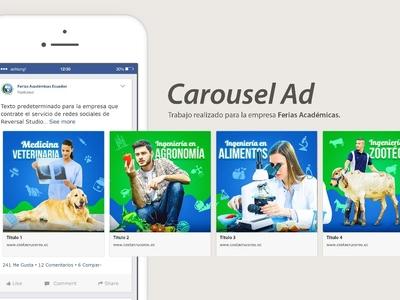 Carousel Ad Feria de Universidades