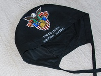 Hand-painted hat for a doctor, scrub cap