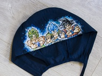 Hand-painted hat for a doctor