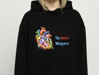 Hand painted hoodies for girls