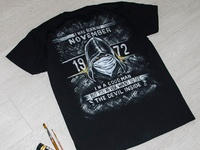 Hand-painted t-shirt for men