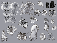 Character Sheet - Cat Monsters