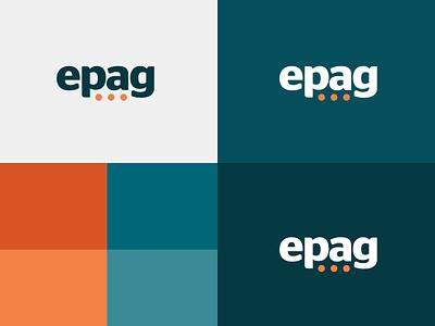 EPAG logo dots branding logo logotype