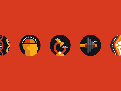 Health Icons mental disease fitness health icon