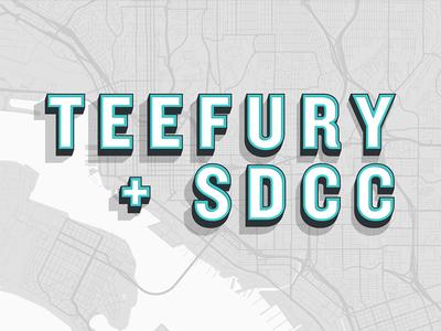 TeeFury + SDCC