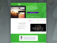 Aimtell Landing Page
