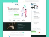 Zingle.me Landing Page