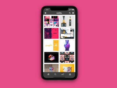 Dribbble iOS App - Shot Detail Flow feedbackplease redesign practice exploration after effects sketch animation flow interaction dribbble app product ux ui