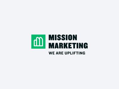 Mission Marketing Brand Exploration m do good give back after effects motion animation agency marketing identity logo branding