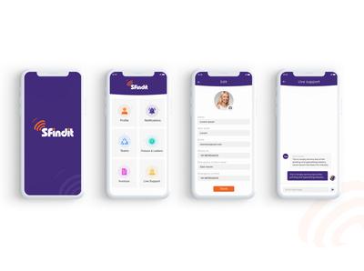 S findit - Mobile App Design application design ux ui ui design application ui app designs