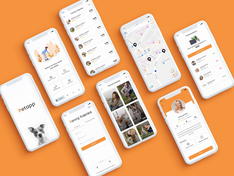 Petapp - Mobile App Design
