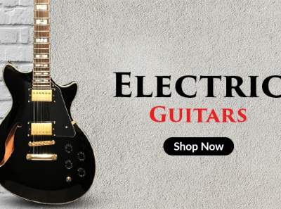 Guitar Banner Designs Themes Templates And Downloadable Graphic Elements On Dribbble