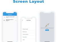My Store App Screen Layout