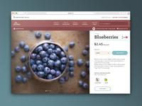 Artisan webpage