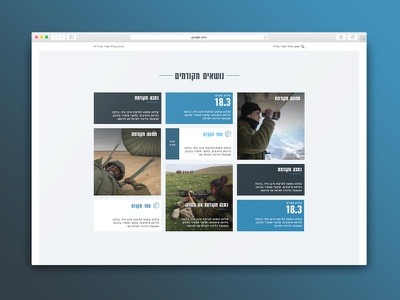 Gallery article photo date army typography ux ui web gallery