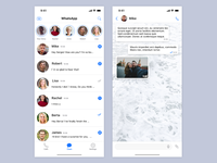 Whatsapp For IOS Redesign