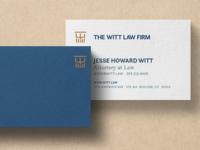 the witt-ness business cards