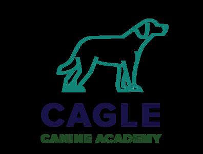 Cagle Canine Academy Logo design vector logo branding