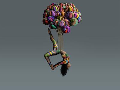 """The Rising"" - Adam Parsons art"