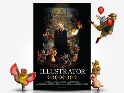 """The Illustrator"" - Movie Poster"