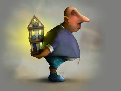 """""""I brought you a home"""" - Adam Parsons art"""