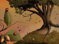 """The Hazel Tree"" - Adam Parsons ART"