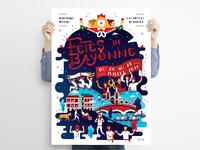 Affiche - Fêtes de Bayonne 2019
