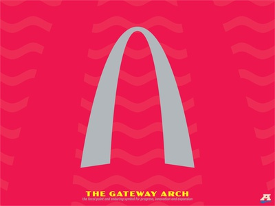 Project O - Reveal #3 - The Gateway Arch st. louis storytelling soccer football sports brand brand identity brand design branding sports branding sports design sports logo sports crest badge