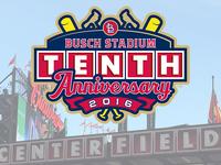 Busch Stadium Tenth Anniversary Mock-Up