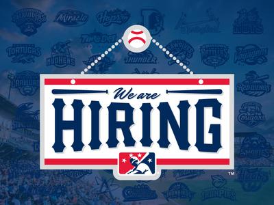 MiLB is hiring! manager director brand social creative employment jobs baseball milb