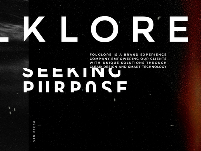 Folklore Brand Development