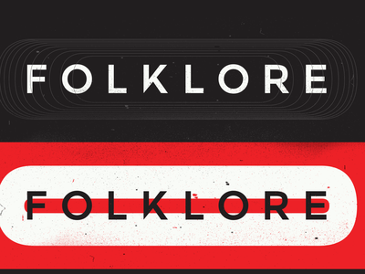 FOLKLORE Brand Development color graphicdesign printdesign print logo vector typography type design branding