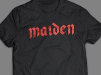 Maiden T Shirt