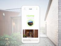 """Nest Home App """"Home"""""""