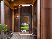 "Nest Home App Design ""Welcome"""