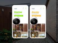 """Nest Home App Design """"Home"""""""