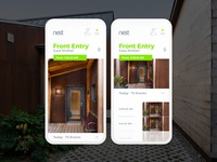 "Nest Home App Design ""Video Detail"""