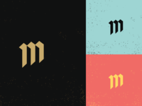 """M"" Icon from the Brand Maiden"