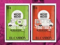 Mucho! Mucho! Lowrider Food Truck Posters