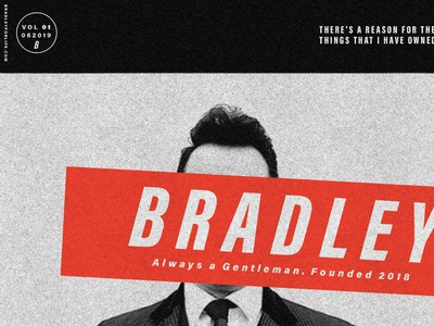 """""""Bradley"""" Ted Poster 02"""